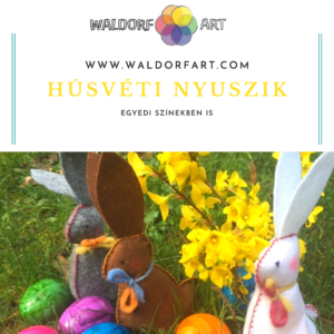 Waldorfart húsvéti nyuszik